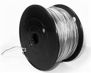 "1000' WIRE SPOOL 3-PLY .014""SS USED WITH 029-3000003"