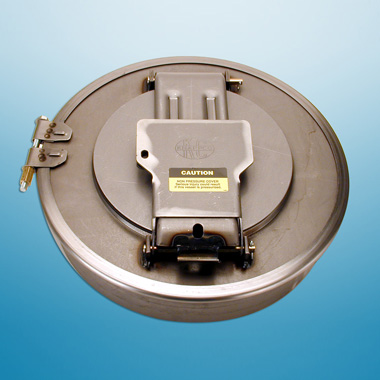 "16"" MS LID-COLLAR-CLAMP & GSKT"