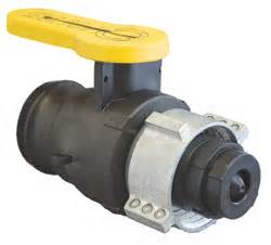 "2"" MALE ADAPTER X MAUSER/MAMOR COLLAR IBC CHECK BALL VALVE"